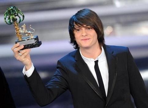 Alessandro Casillo vencedor na categoria dos jovens