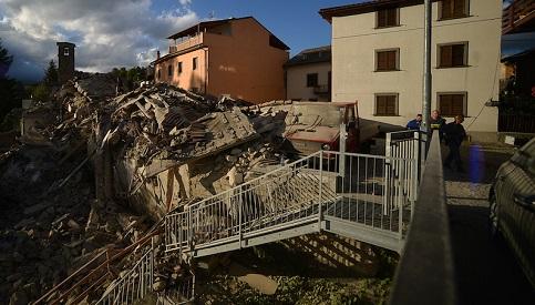 Terremoto na Região de Marche