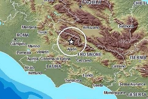 Localiza��o geogr�fica do terremoto