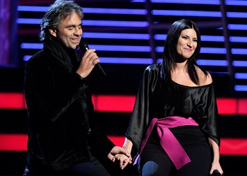 Bocelli e Pausini