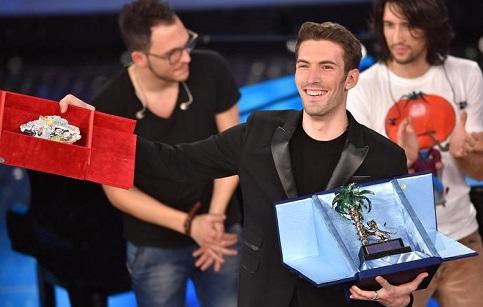 Giovanni Caccamo vence Novas Propostas de Sanremo 2015