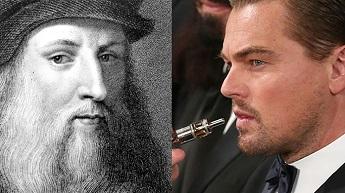 Ator Leonardo DiCaprio interpretará o famoso pintor italiano Leonardo da Vinci