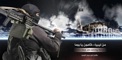 Grupo terrorista EI ameaça destruir Roma