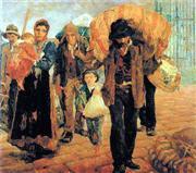 Foto retratando a imigração italiana em SP