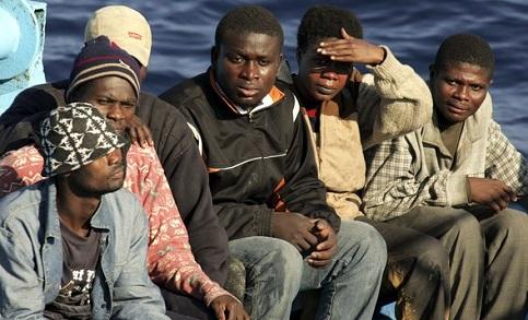 Imigra��o ilegal na It�lia