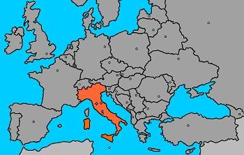 Italia lidera risco de desastres na Europa