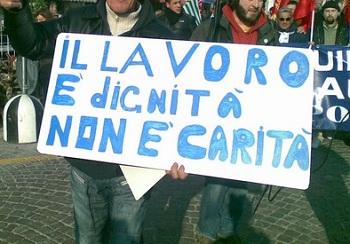 Falta de empregos no sul da It�lia
