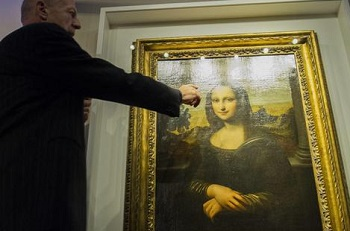 Quadro Monalisa, de Da Vinci