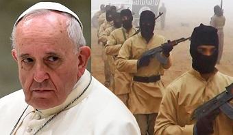 Em vídeo, EI ameaça papa Francisco: 'Chegaremos a Roma'