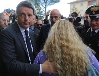 Renzi visita cidade de Camerino