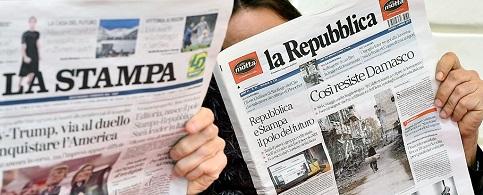 La Stampa e la Repubblica