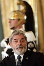 Lula e o presidente italiano Giorgio Napoletano