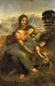 Quadro de Leonardo da Vinci, intitulado