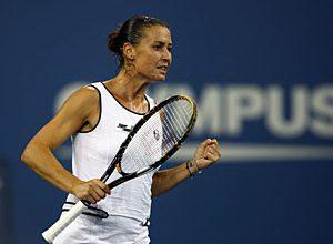 A tenista italiana pode, mais uma vez, fazer história e ser a primeira italiana a chegar nas semifinais do US Open, mas para isso terá de vencer a norte-americana Serena Williams