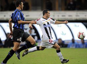 Inter e Udinese fizeram um duelo parelho e decidido nos detalhes