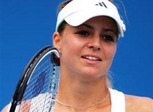 A tenista Alberta Brianti é uma das esperanças italianas de avançar ainda mais no Aberto da Austrália de Tênis