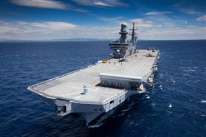 O Navio-Aeródromo Cavour segue hoje para o Haiti