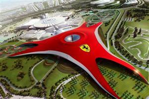 Marca da Ferrari em parque temático terá 215 metros