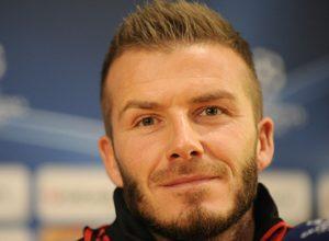 Inglês do Milan, David Beckham, quer eliminar sua ex-equipe e com isso seguir, com seu time, em busca do título da Liga dos Campeões