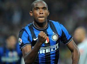 Depois de uma parada para recuperar a forma física o camaronês Samuel Eto'o volta aos poucos ao time titular da Inter