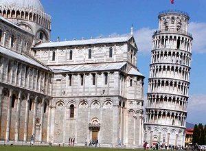 Cidade de Pisa, na Toscana